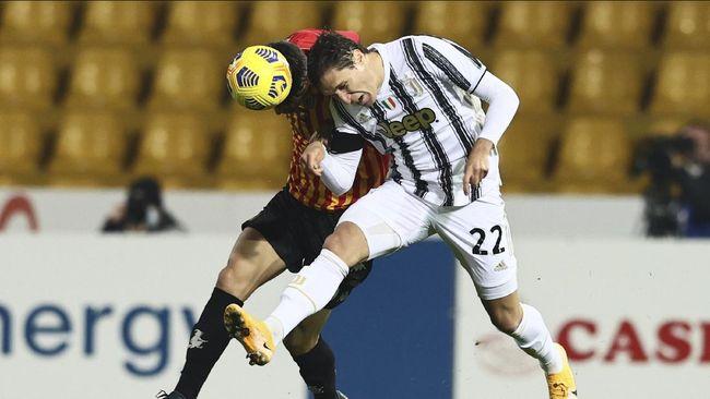 Juventus ditahan imbang Benevento pada pekan kesembilan Liga Italia, Minggu (29/11) dini hari waktu Indonesia.