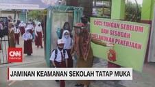 VIDEO: Jaminan Keamanan Sekolah Tatap Muka