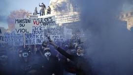 Demo Warga Prancis Berakhir Ricuh Tolak RUU Keamanan Polisi