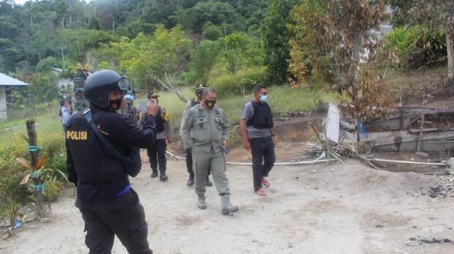 TNI-Polri Tinombala Buru Terduga Pelaku Pembantaian Sigi