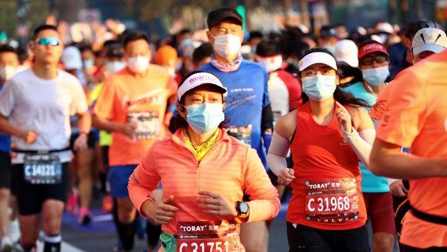Shanghai Marathon kembali digelar untuk yang pertama kalinya di tengah pandemi virus Corona.