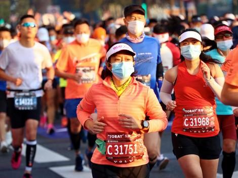 China Tetap Gelar Ajang Maraton di Tengah Pandemi Corona