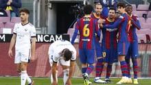 Hasil Liga Spanyol: Barcelona Kalahkan Osasuna 4-0