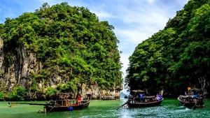 FOTO: Thailand Kembali Buka Pintu untuk Turis Asing