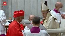 VIDEO: Paus Tunjuk Kardinal Keturunan Afrika Pertama