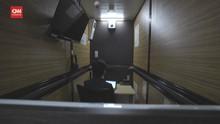 VIDEO: Hotel Kapsul Jepang Disulap jadi Kantor Imbas Pandemi