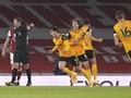 Hasil Liga Inggris: Wolverhampton Menang 2-1 atas Arsenal