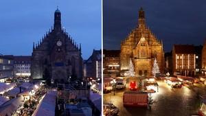 FOTO: Pasar Natal, Tradisi Natal yang 'Hilang' Karena Corona