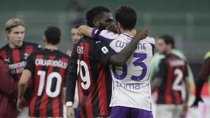 FOTO: AC Milan Buat Fiorentina Tak Berdaya
