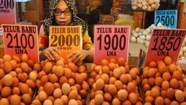 Harga Telur dan Cabai Rawit Naik Jelang Perayaan Imlek