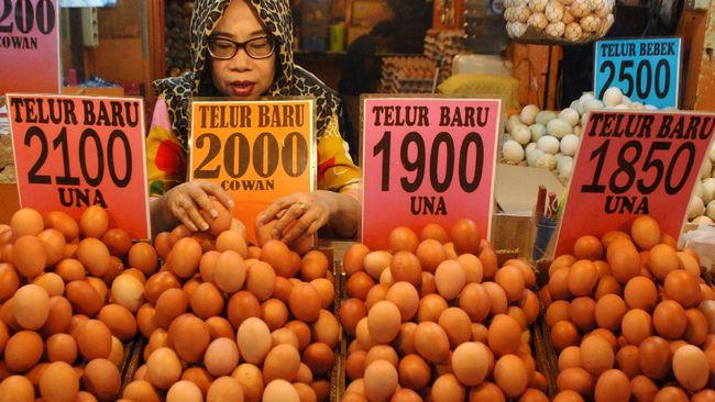 Kemendag memaparkan penyebab harga telur anjlok di pasaran.