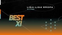 INFOGRAFIS: Best XI Eropa Pekan Ini, Cavani Ujung Tombak