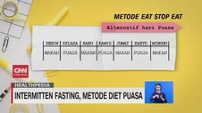 VIDEO: Intermitten Fasting, Metode Diet Puasa