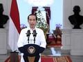 Sambut Tahun Baru, Jokowi Sebut 2021 Tahun Pemulihan
