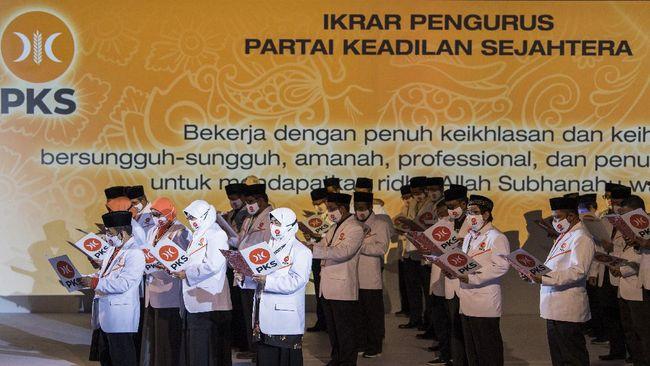 Sebelumnya, PKS sudah mengunjung kantor DPP Demokrat, PDIP, PPP, PKB dan Golkar.