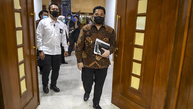 Erick Thohir Rombak Fokus Bisnis Bank BUMN