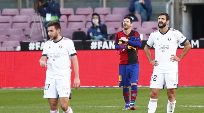 Gara-gara Messi, Barcelona Didenda Rp50,5 Juta