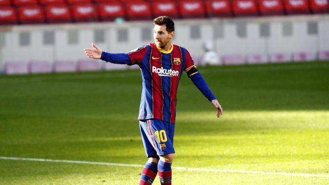 Lionel Messi yang berstatus sebagai megabintang sepak bola juga pernah meminta jersey dari pemain lain.