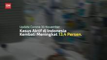 VIDEO: Pasien Positif Covid-19 Jadi 538.883 Per 30 November