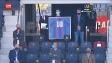 VIDEO: Penghormatan Barcelona untuk Diego Maradona