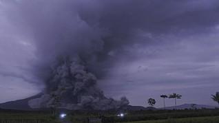 Gunung Semeru Meletus, Status Masih Waspada