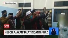 VIDEO: Heboh Ajakan Salat Diganti Jihad