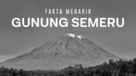 INFOGRAFIS: Fakta Menarik Gunung Semeru