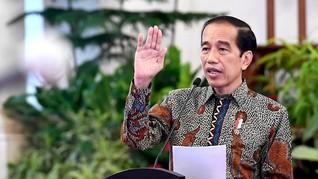 Kasus Tembus 543 Ribu, Jokowi Optimistis Kendalikan Covid-19