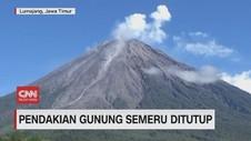 VIDEO: Pendakian Gunung Semeru Ditutup