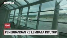 VIDEO: Penerbangan ke Lembata Ditutup
