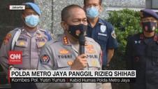 VIDEO: Polda Metro Jaya Panggil Rizieq Shihab