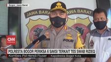 VIDEO: Polresta Bogor Periksa 6 Saksi Terkait Tes Swab Rizieq