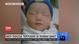 VIDEO: Bayi Diduga Tertukar di Rumah Sakit