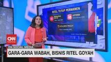 VIDEO: Gara-gara Wabah, Bisnis Ritel Goyah