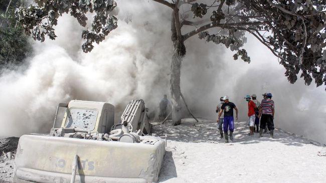 PVMBG mengatakan getaran banjir lahar dingin Gunung Semeru terekam satu kali.