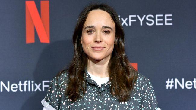 Aktor The Umbrella Academy pemeran Vanya Hargreeves alias Number Seven, Ellen Page melela diri sebagai seorang transgender.