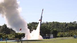 LAPAN Berhasil Luncurkan Roket RX450-5, Jangkau 100 Km