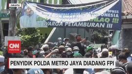 VIDEO: Penyidik Polda Metro Jaya Diadang FPI