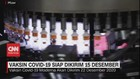 VIDEO: Vaksin Covid-19 Siap Dikirim 15 Desember
