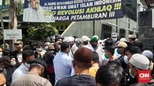 Polisi Diadang di Rumah Rizieq, FPI Bantah Beri Instruksi