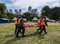 FOTO : Simulasi Kampung Siaga Bencana di Ibu Kota