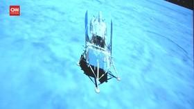 VIDEO: Pesawat Luar Angkasa Chang'e-5 Mendarat di Bulan