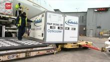 VIDEO: Memprediksi Cara Distribusi Vaksin Menggunakan Pesawat