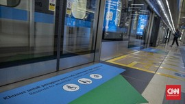 Jadwal Baru Jam Operasional MRT Berlaku Senin Besok