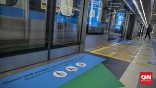 Penumpang MRT Turun 80 Persen Selama PPKM Darurat