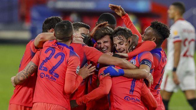 Chelsea disebut sebagai tim yang lebih superior ketimbang Barcelona dan Real Madrid hingga matchday kelima Liga Champions.