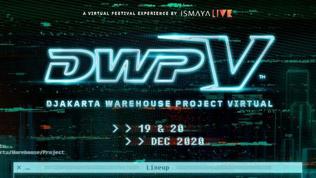 Djakarta Warehouse Project akan menggelar konser virtual secara gratis, cukup bergabung ke laman DWP.