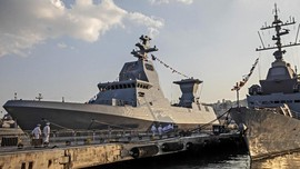 Hadapi Iran, Israel Perkuat Armada Kapal Perang di Laut Merah