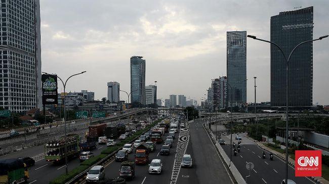 Polisi akan menyekat 11 titik perbatasan Jakarta di malam Tahun Baru untuk mencegah kerumunan atau konvoi warga yang masuk ibu kota.