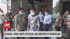 VIDEO: Syahrul Yasin Limpo Ditunjuk Jadi Menteri KP Sementara